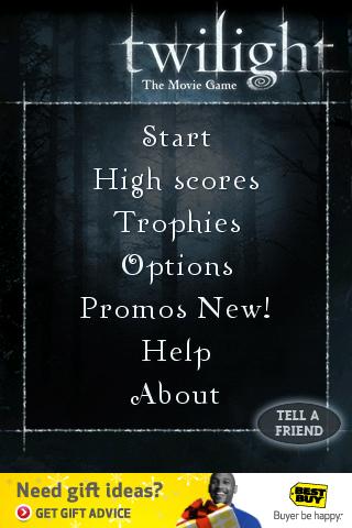 Twilight – The Movie Game